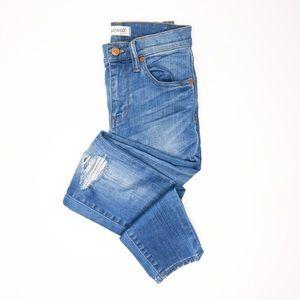 """Madewell 9"""" High-Riser Skinny Skinny Jean"""